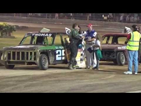Historic Stock Cars Southern Rumble Arlington 17/08/2016 Final