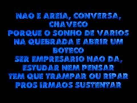 A Vida é Um Desafio Paroles Racionais Mcs Greatsong
