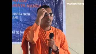 swami bodhamayananda in k s raju institute of technology and sciences 02 dec 2011