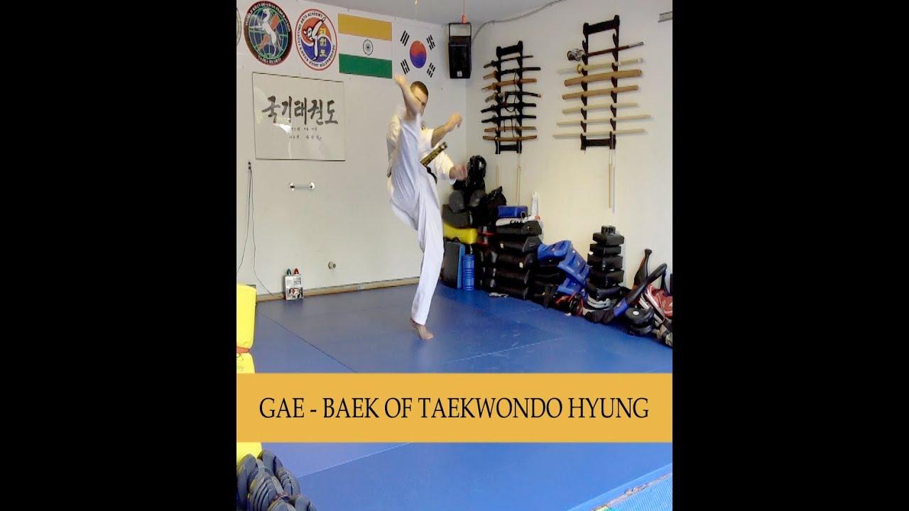 Learn Taekwondo Hyungs - Patterns