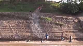 Tobogã em Marechal Thaumaturgo