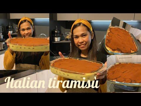 "How to make the original Italian Tiramisù """