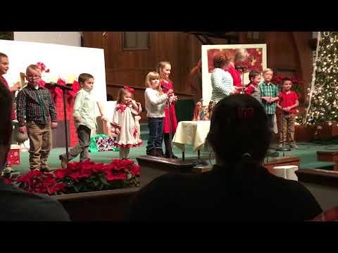 Trinity Baptist Church children's Christmas program