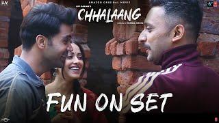 Chhalaang Making - Fun on Set | Rajkummar R, Nushrratt B | Streaming Now on Amazon Prime Video
