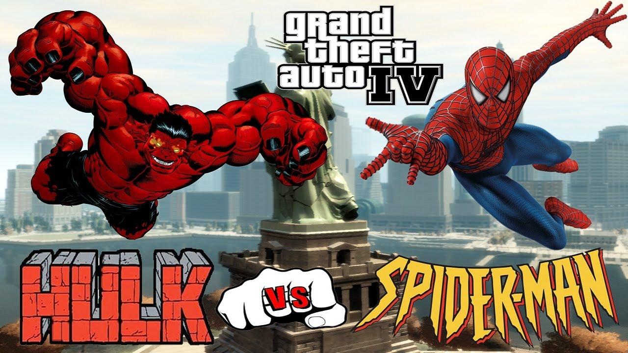 Gta Spiderman Vs Hulk – Idea di immagine del eroe