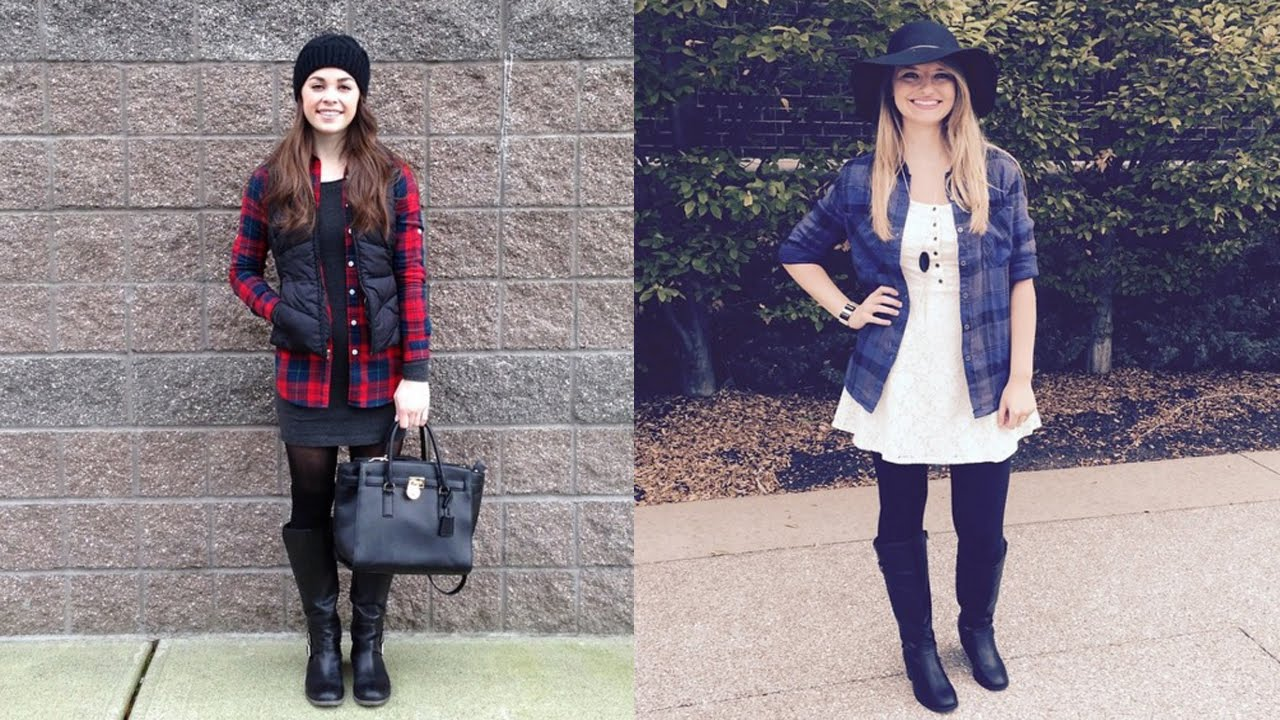 Fall Fashion Ideas 20 Style Tips On How To Wear Flannel Shirts