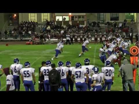16 year old Ariel Hercik 2011 Football Highlights
