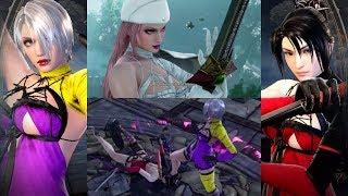 Soulcalibur VI Ivy Dressed as Kaine Vs Taki Dressed as Kaine C…