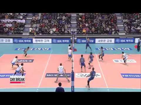 V-League, Samsung Hwajae vs Woori Card