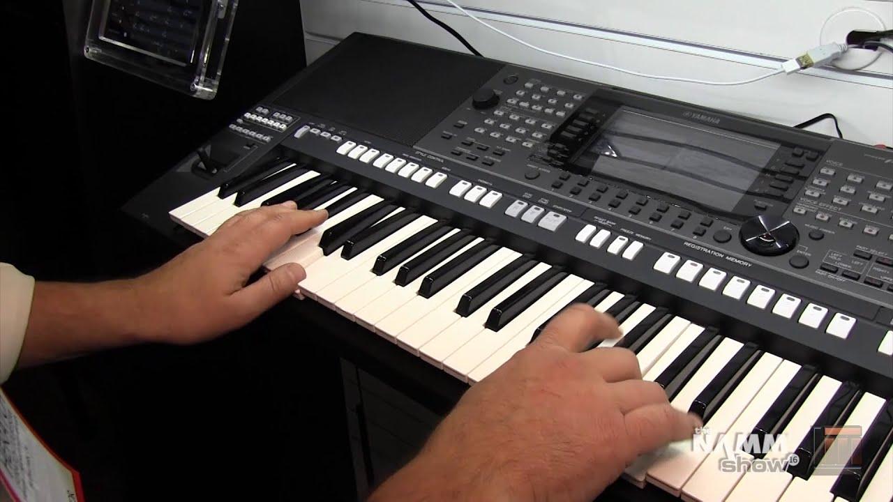 Long mcquade namm 2016 yamaha piagerro series and psr for Yamaha a3000 keyboard