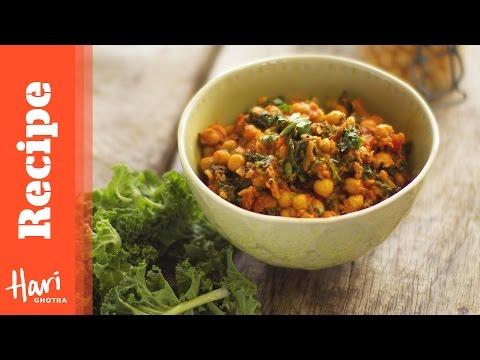 Kale & Chickpea Curry Recipe