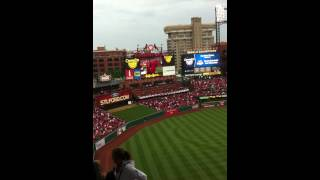 St. Louis Cardinals Opening Day Festivities 2012 Part 2