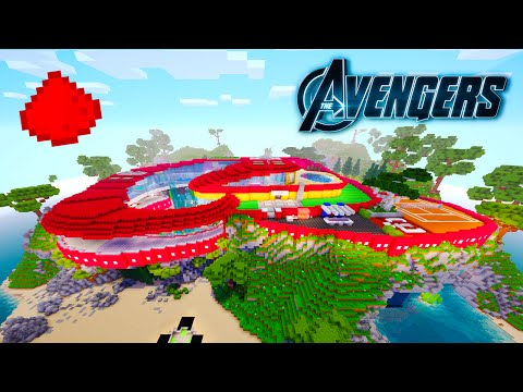 AVENGERS MANSION IN MINECRAFT! (w/ 40+ Command Block Creations)