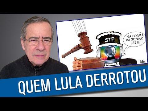 Lula jogou os algozes na lata do lixo da História