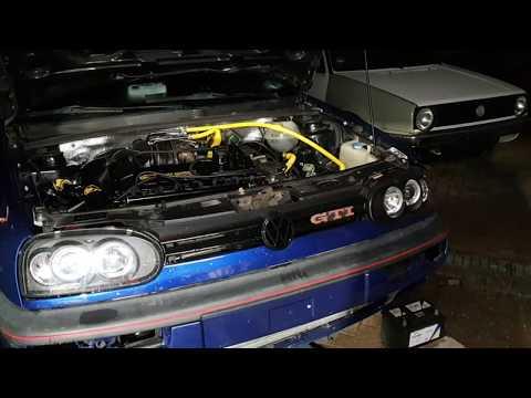 Projekt VW Golf 3 20 Jahre Edition GTI / Golf 3 Vr6 Turbo Umbau Teil 11
