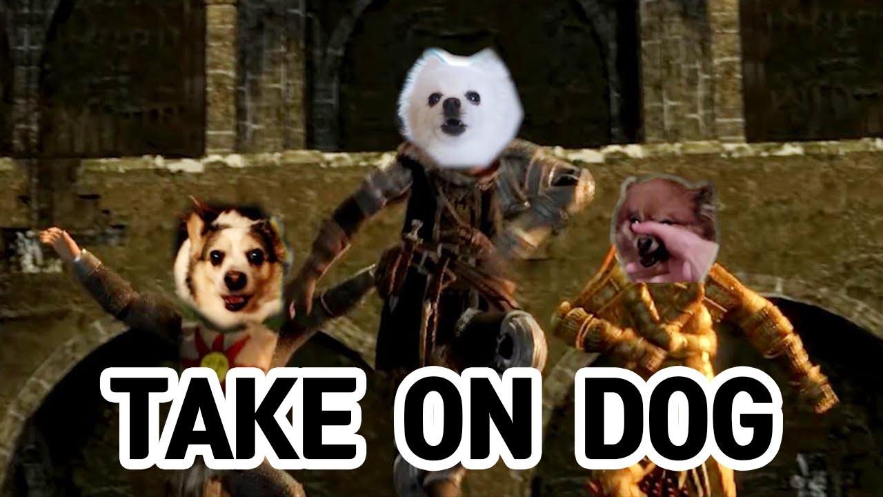 TAKE ON DOG  ( a-ha Take On Me 강아지 리믹스)