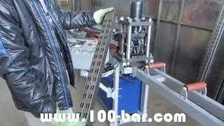 Смотреть видео Производство металлических стеллажей
