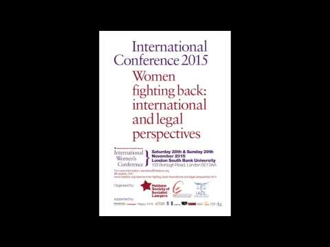 """Women Fighting Back: International and Legal Perspectives"" Panel: Migrant and Refugee Women"