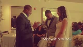 Q. Wilson, Wedding Officiant - Shawn & Paulina's Wedding