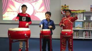 First Chinese New Year Celebration @ American Scho