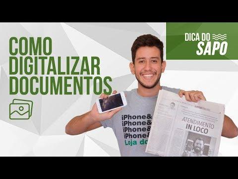 Como digitalizar documentos no iPhone- DICA DO SAPO from YouTube · Duration:  6 minutes 45 seconds