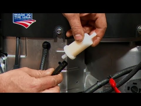 How To Change Your Mower S Fuel Filter Briggs Stratton