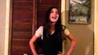 "Rowan Blanchard sings ""Anything Goes/Anything You Can Do"" GLEE verson"