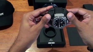 Hublot Big Bang Aero 2016 Model(This is a quick look at the 2016 Hublot Big Bang Aero Bang Steel Unboxing . Instagram : watchhunters Ref: 311.SX.1170.GR Powered by Hublot 4214 ..., 2016-02-14T14:07:51.000Z)