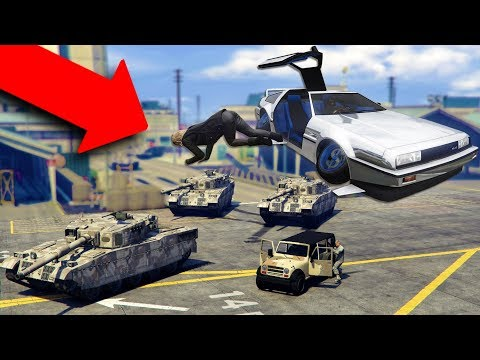 DROPPING PEOPLE OFF IN THE MILITARY BASE! | GTA 5 THUG LIFE #192 thumbnail