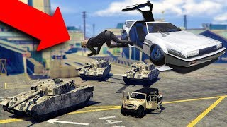 DROPPING PEOPLE OFF IN THE MILITARY BASE! | GTA 5 THUG LIFE #192