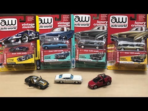 New Diecast From Auto World M2 And Matchbox Moving Parts! 1/64 #diecast