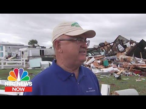 Emerald Isle Mayor: 'The Devastation Is Just Unreal' After Dorian Tornado | NBC News Now