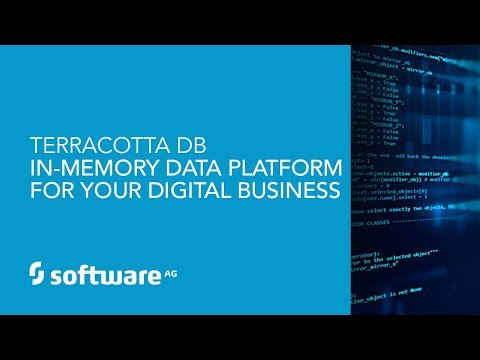 Demo: Terracotta DB – In Memory Data Platform for your Digital Business 20180404 143