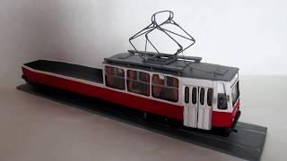 модель трамвая ЛМ-68М 1 часть
