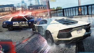 Lamborghini Aventador Need For Speed Most Wanted Police Chase Ultra Setting