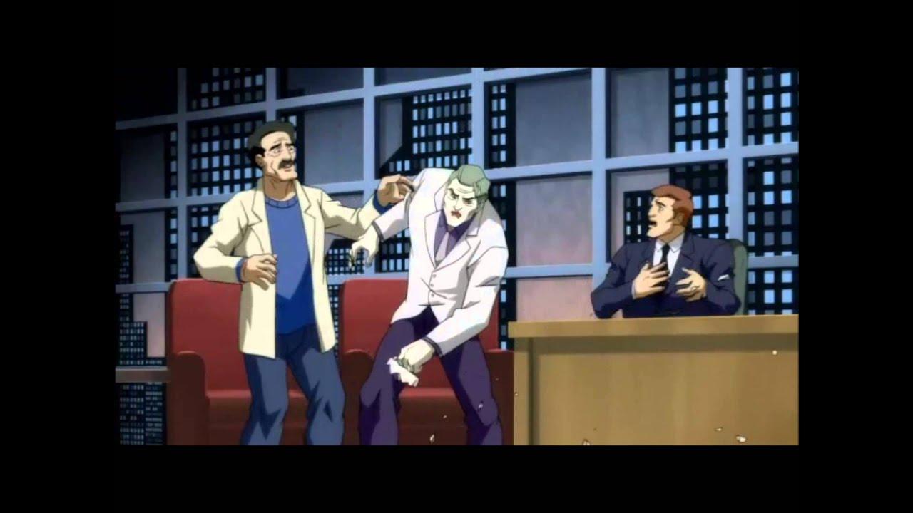 dark knight returns part 2 joker kills an entire studio