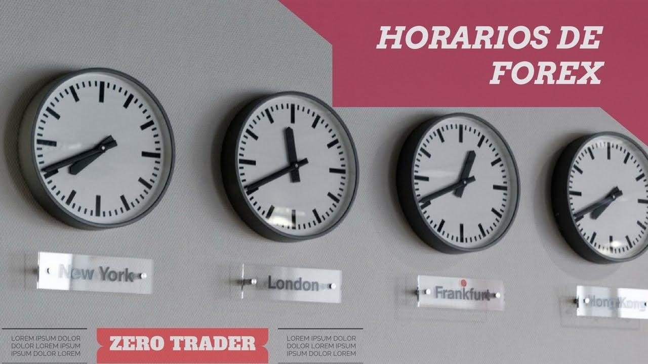 Horario de forex