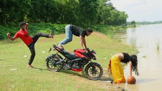 Must Watch New Funny Video 2020_Top New Comedy Video 2020_Try To Not Laugh_Episode 140 By FunKiVines