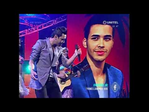 Yo Me Llamo - Bolivia 2017 – Prince Royce -  Darte un beso  22/06/2017