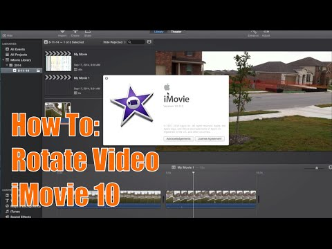 Imovie 1005 tutorial how to rotate video footage youtube imovie 1005 tutorial how to rotate video footage ccuart Gallery