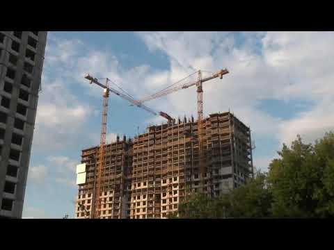 Дом по программе реновации строится на улице Константина Федина