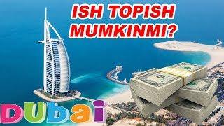 DUBAYDA ISH TOPSA BO'LADIMI? (63-VLOG)