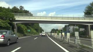 札樽自動車道(2012年)札幌JCT.~小樽IC[札幌市 小樽市]