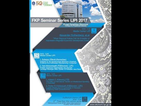 FKP 2017 04 26 - Thee Kian Wie Lecture Series - Memperkuat Peran APBN dalam Meningkatkan SDM