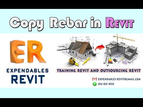 Revit Tips 04 | Copy Rebar Sang Dự Án Khác Trong Revit