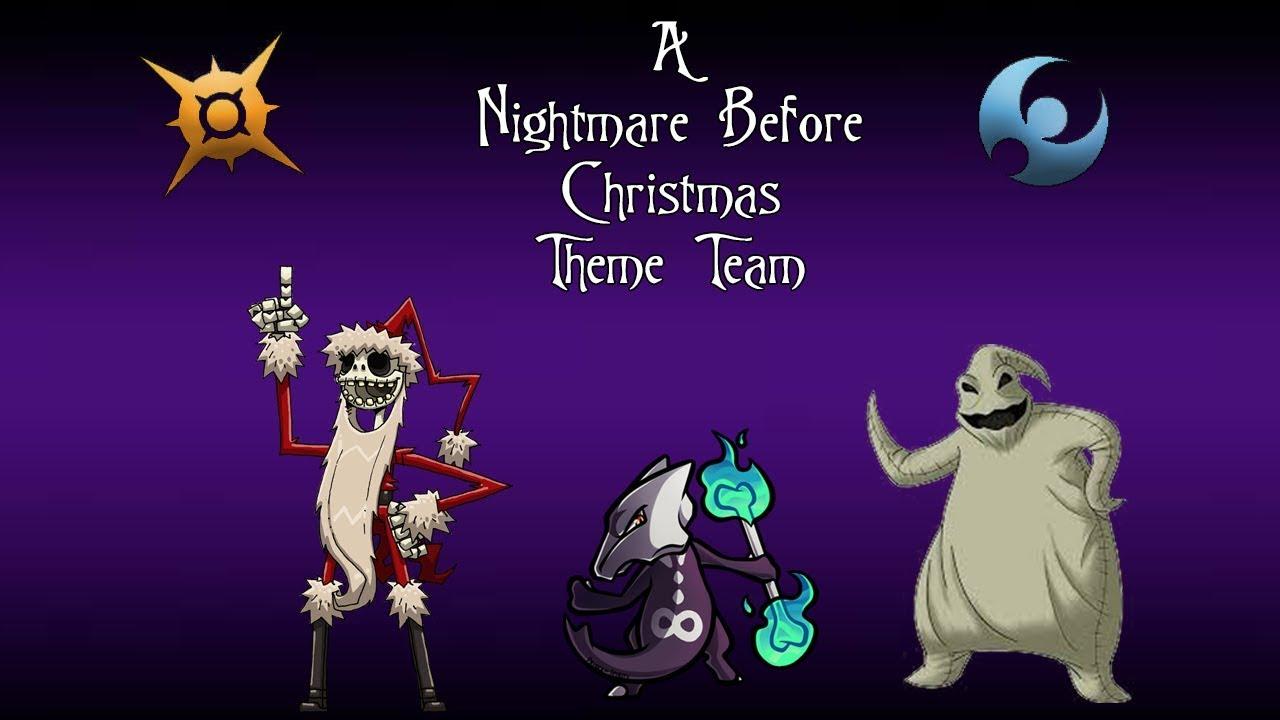 Pokemon Dream Themes Nightmare Before Christmas Theme Team - YouTube