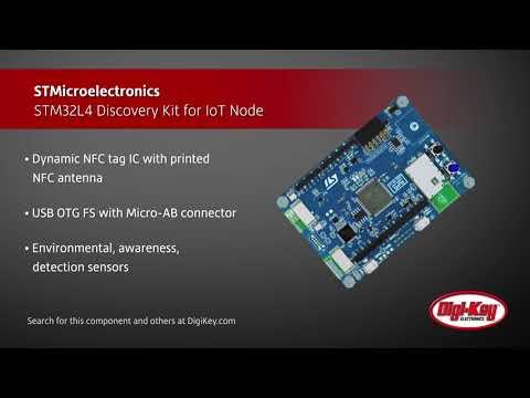 STMicroelectronics STM32L4 IoT Discovery Kit | Digi-Key Daily