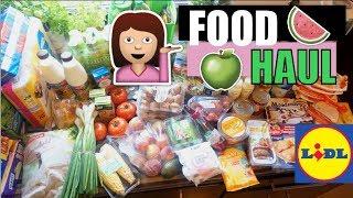 Food Haul Mai 2017 🍏 Lidl Familien Einkauf 🍉 Nickisbeautyworld