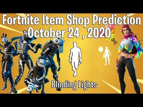 Fortnite Item Shop Prediction October 24th , 2020   Item Shop Prediction 24 October 2020