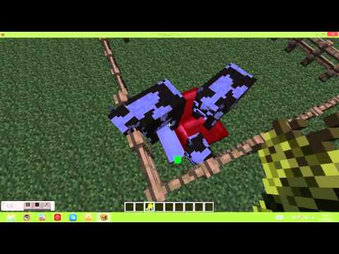 Minecraft Jennifer Lawrence and me Cow Form Travel Video